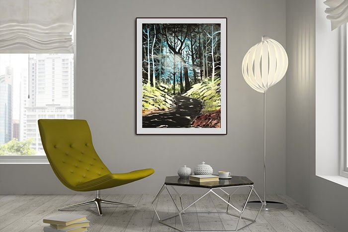 Stream In The Forest - Express Image Artistry